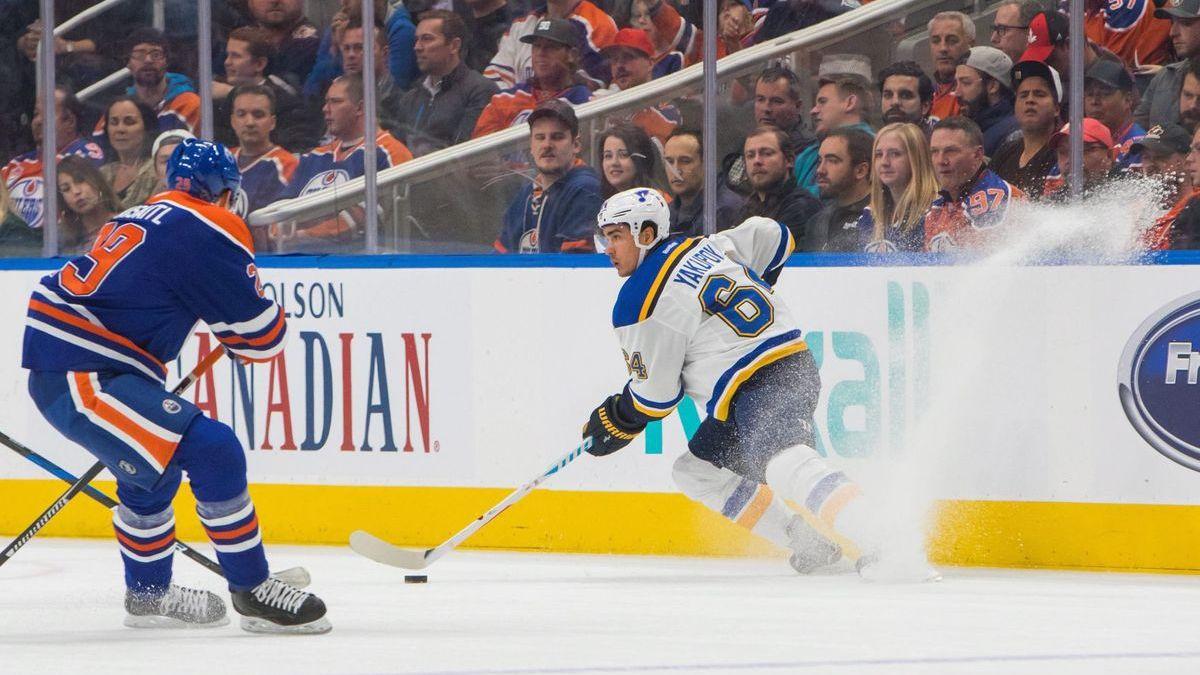 Thursday's NHL bet du jour: St. Louis at Edmonton article feature image