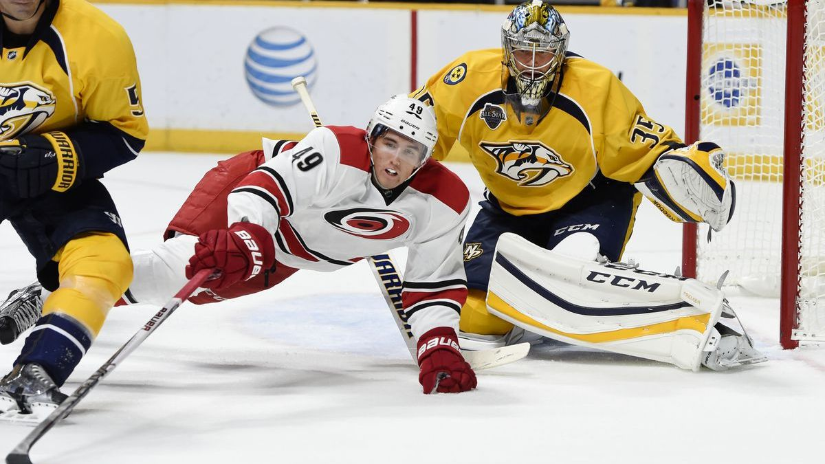 Sunday's NHL bet du jour: Nashville at Carolina article feature image
