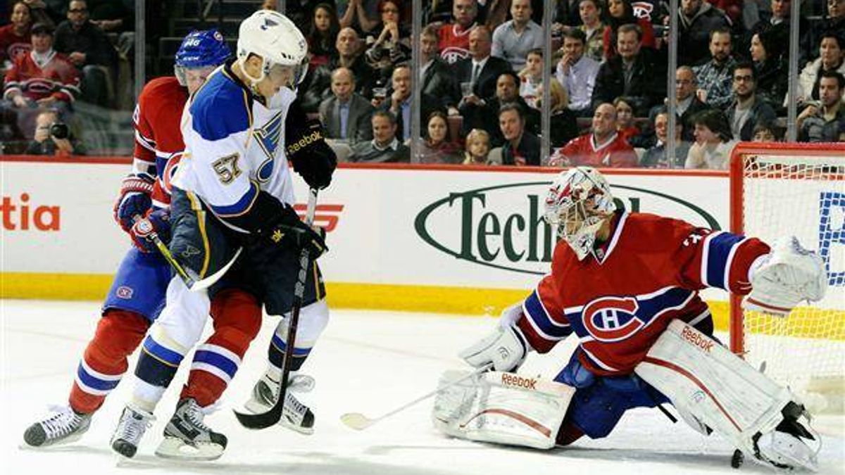 Tuesday's NHL bet du jour: St. Louis at Montreal article feature image
