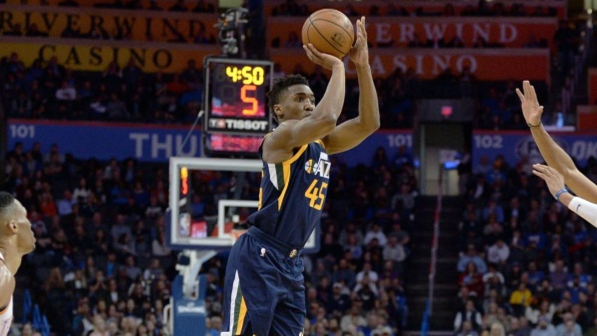 NBA: Donovan Mitchell forcing his way into ROY conversation article feature image