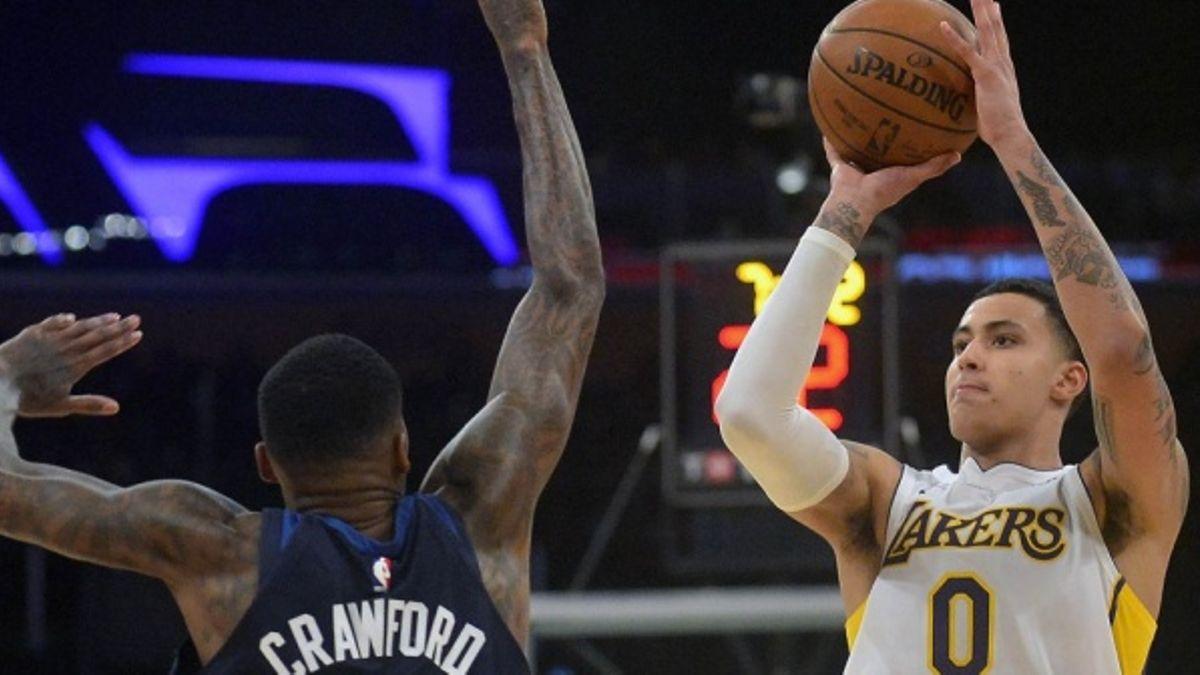 NBA: Kyle Kuzma shooting his way toward ROY article feature image