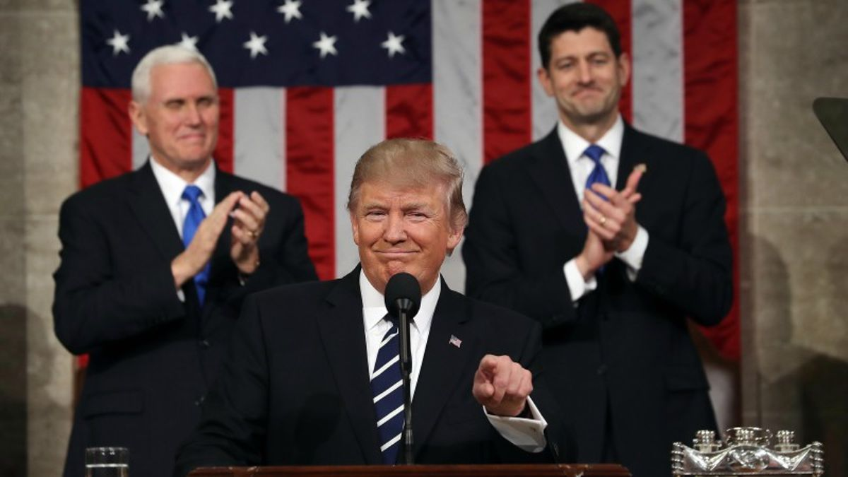 Donald Trump State of the Union Prop Bets article feature image