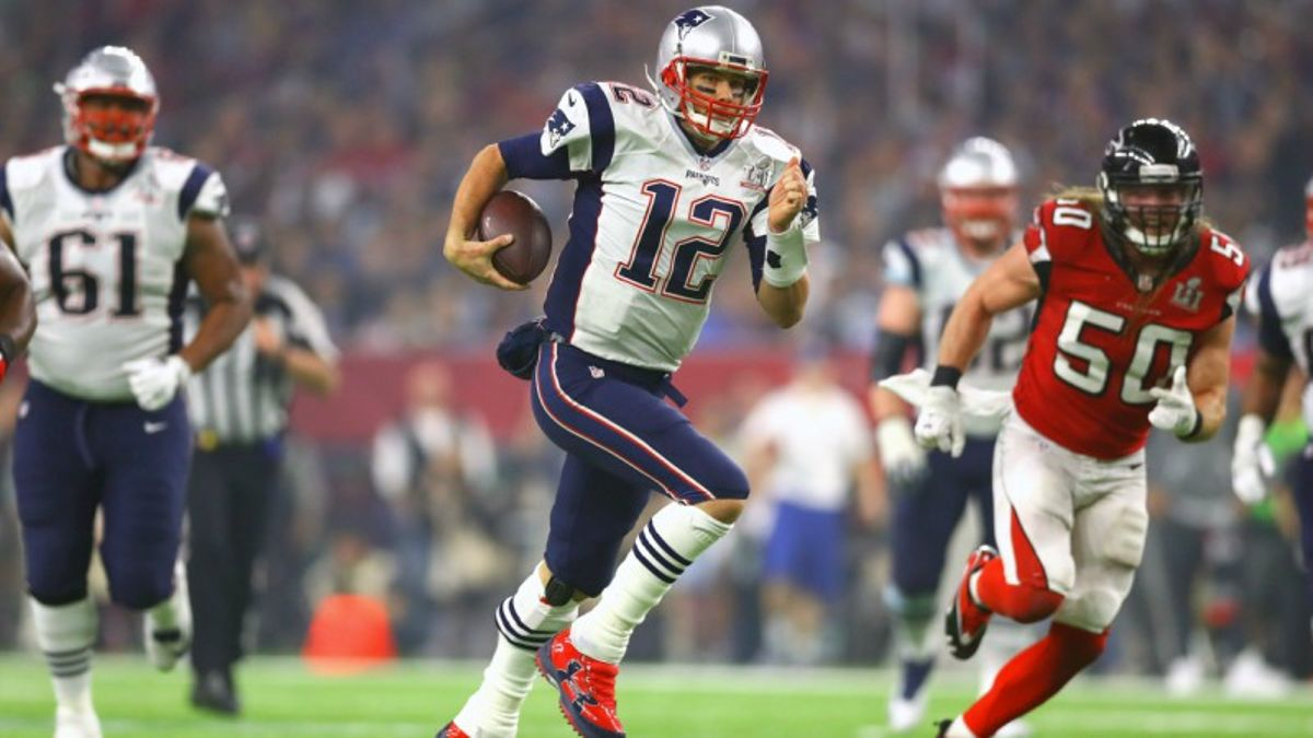 Sneaky Super Bowl Prop: Have Faith in Tom Brady's Legs article feature image