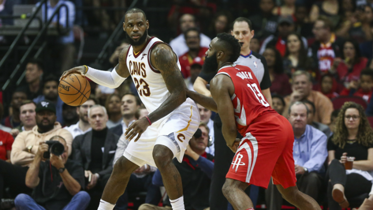 NBA Betting, DFS Angles for Cavs-Rockets, and Every Saturday Game article feature image