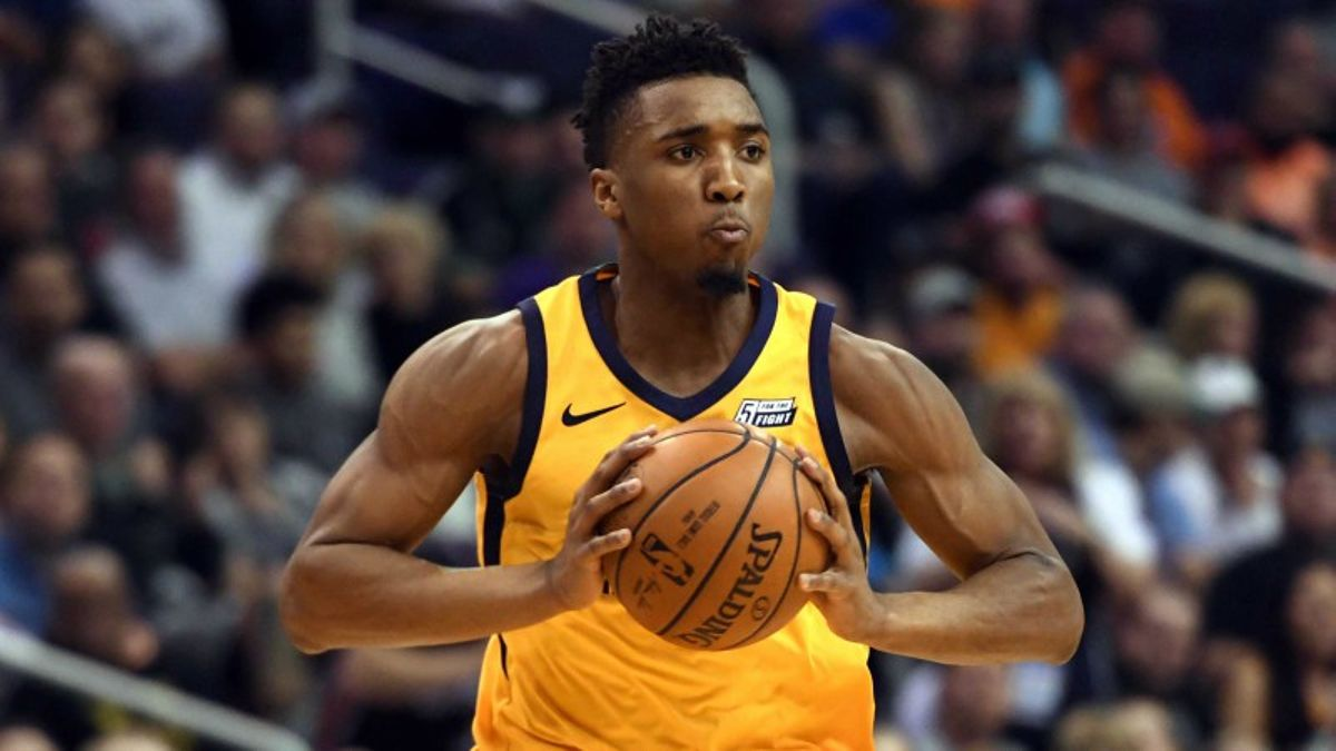 All-Star Weekend Diary, Day 1: The Donovan Mitchell Hype Is Real article feature image