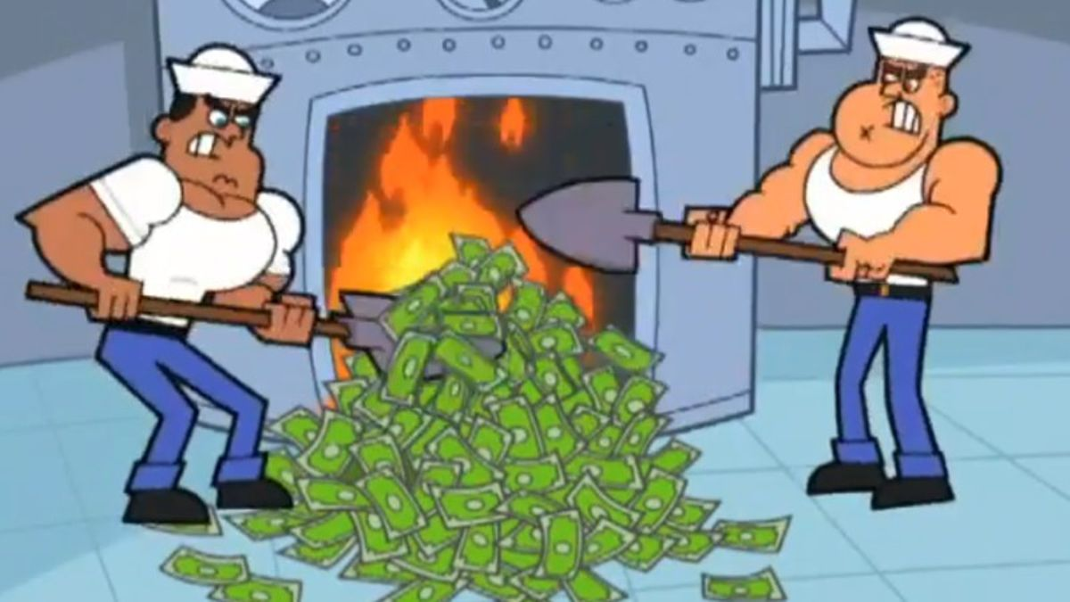 The Do's and Don'ts of Using Daily Fantasy's Favorite Meme: The Burning Money GIF article feature image
