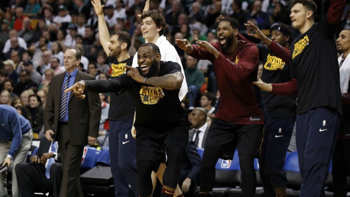 Oddsmakers Impressed by New-Look Cavaliers article feature image