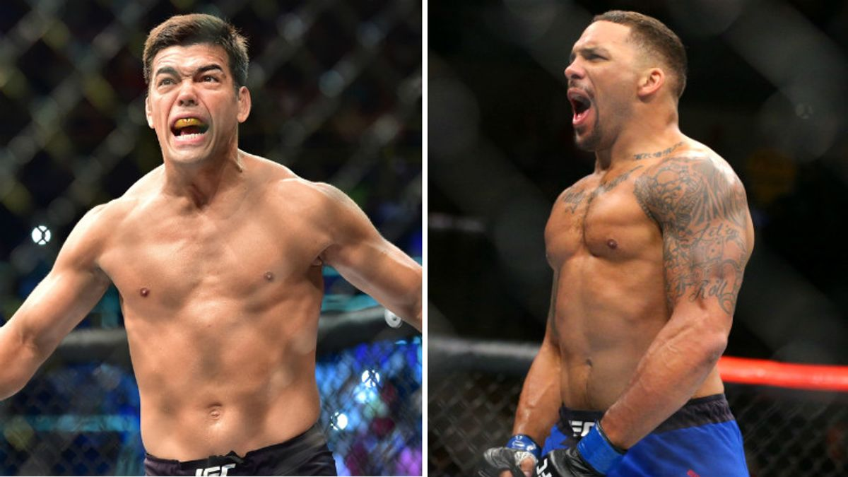 UFC Fight Night Betting: Machida, Anders Battle in Crossroads Fight article feature image