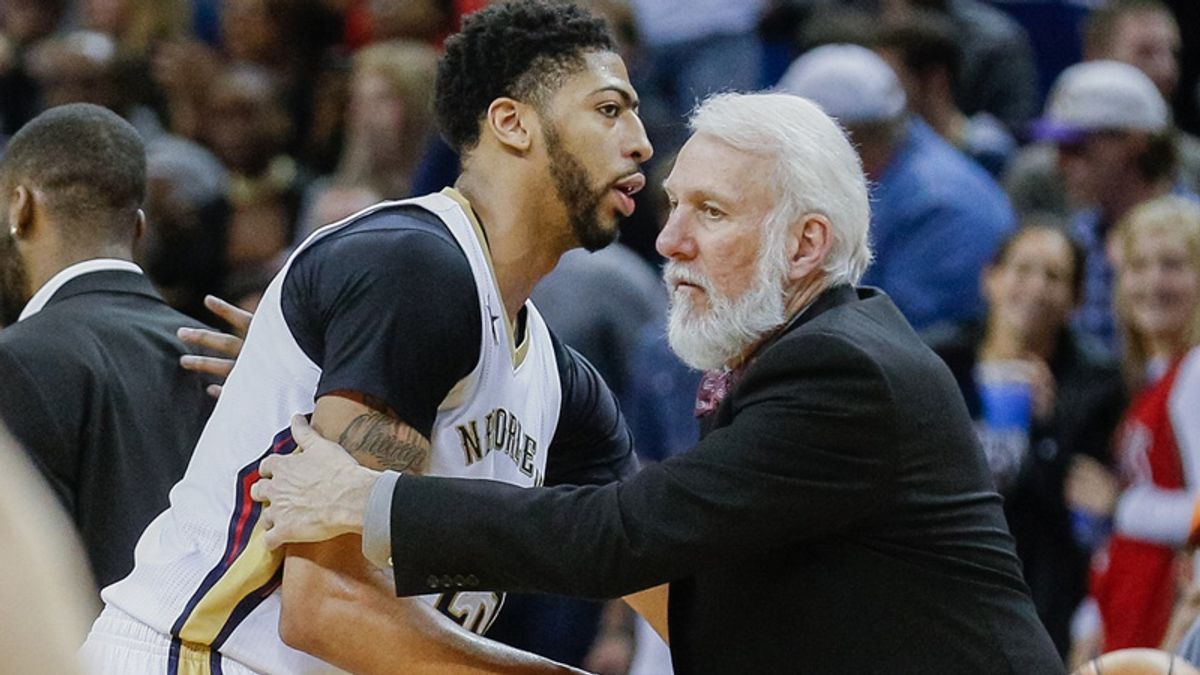 Pelicans-Spurs Getting Sharp Attention Early Wednesday article feature image