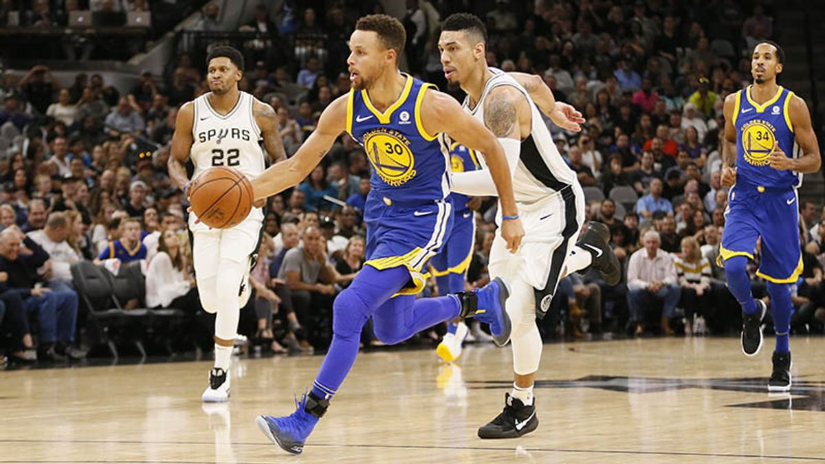 Five Things Bettors Should Know for Spurs-Warriors article feature image