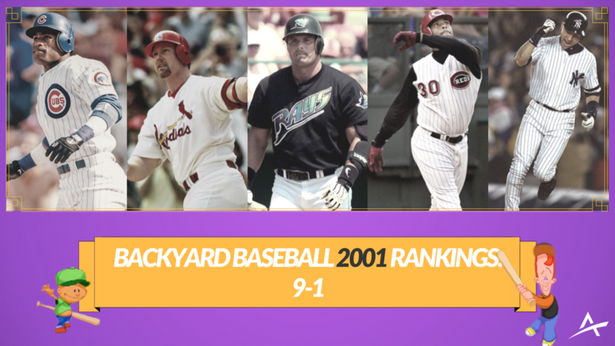Backyard Baseball 2001 DraftKings Price Guide: The Starting Nine article feature image