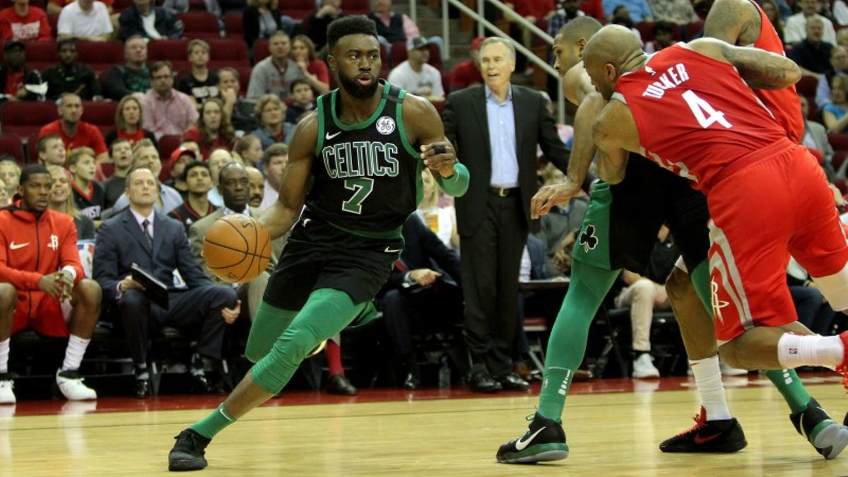Thursday's Best NBA Prop Bets: Jaylen Brown Over/Under 14 Points? article feature image