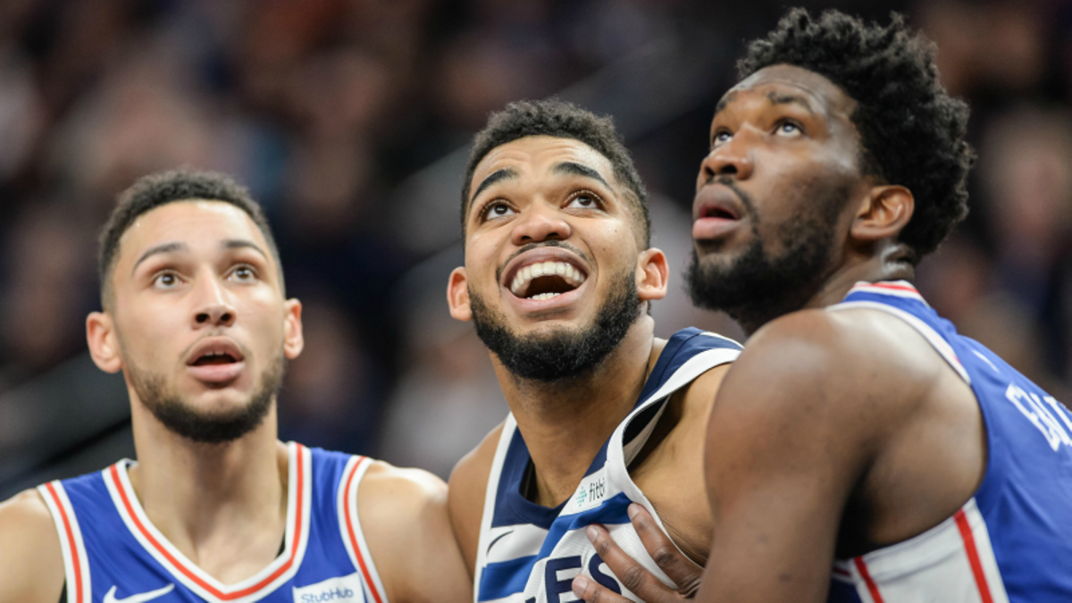 NBA Betting, DFS Guide: Towns-Embiid, Harden-Brow, and Every Saturday Game article feature image