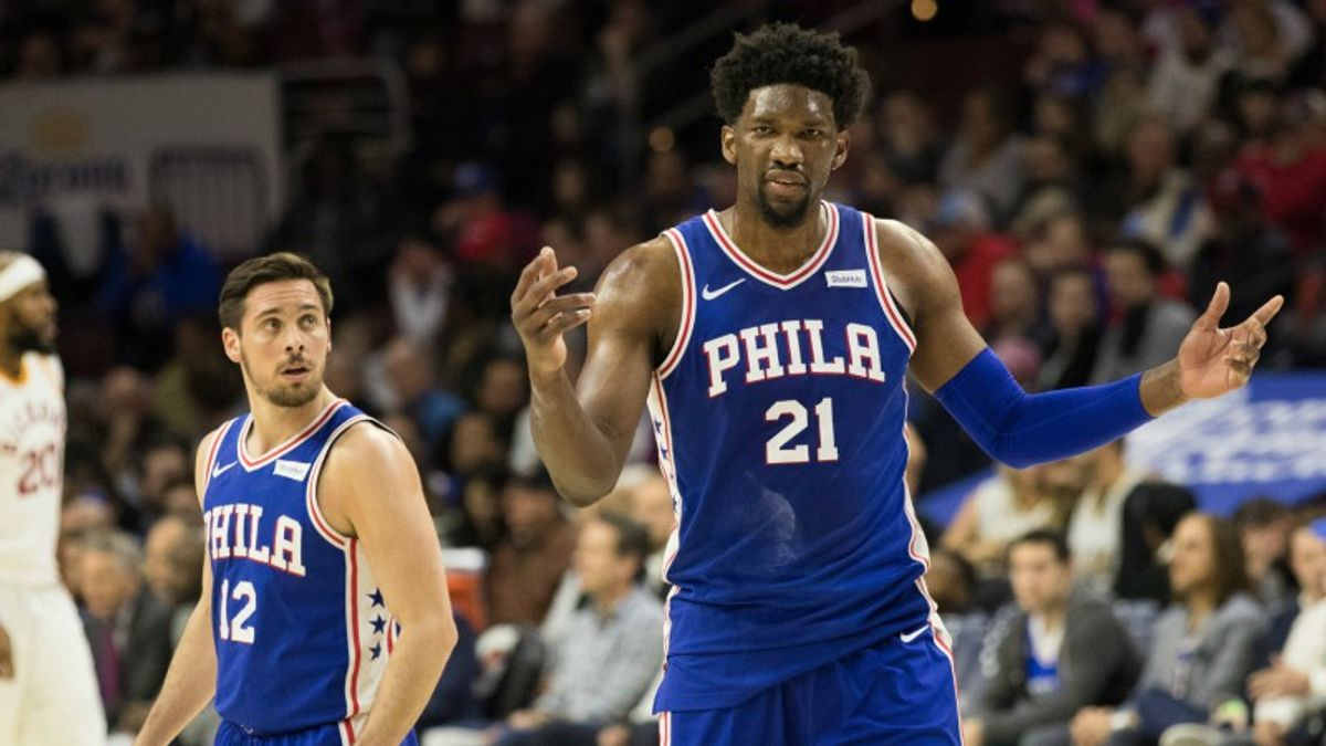Three NBA Prop Bets for Thursday: Embiid Over/Under 10.5 Rebounds? article feature image