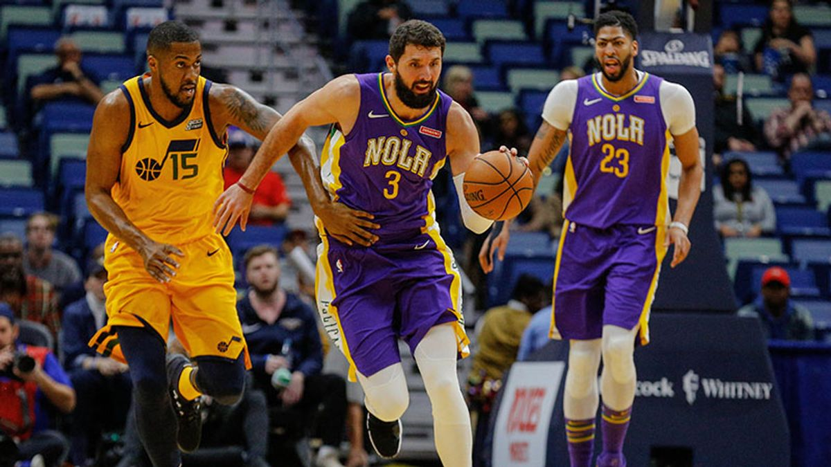 Five NBA Prop Bets for Tuesday: Over/Under 14.5 Points for Mirotic? article feature image