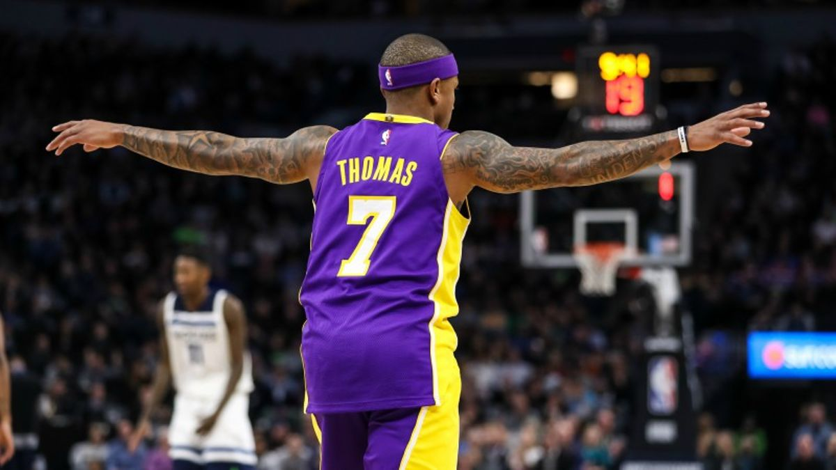 Five NBA Prop Bets for Wednesday: Thomas Over/Under 18.5 Points? article feature image