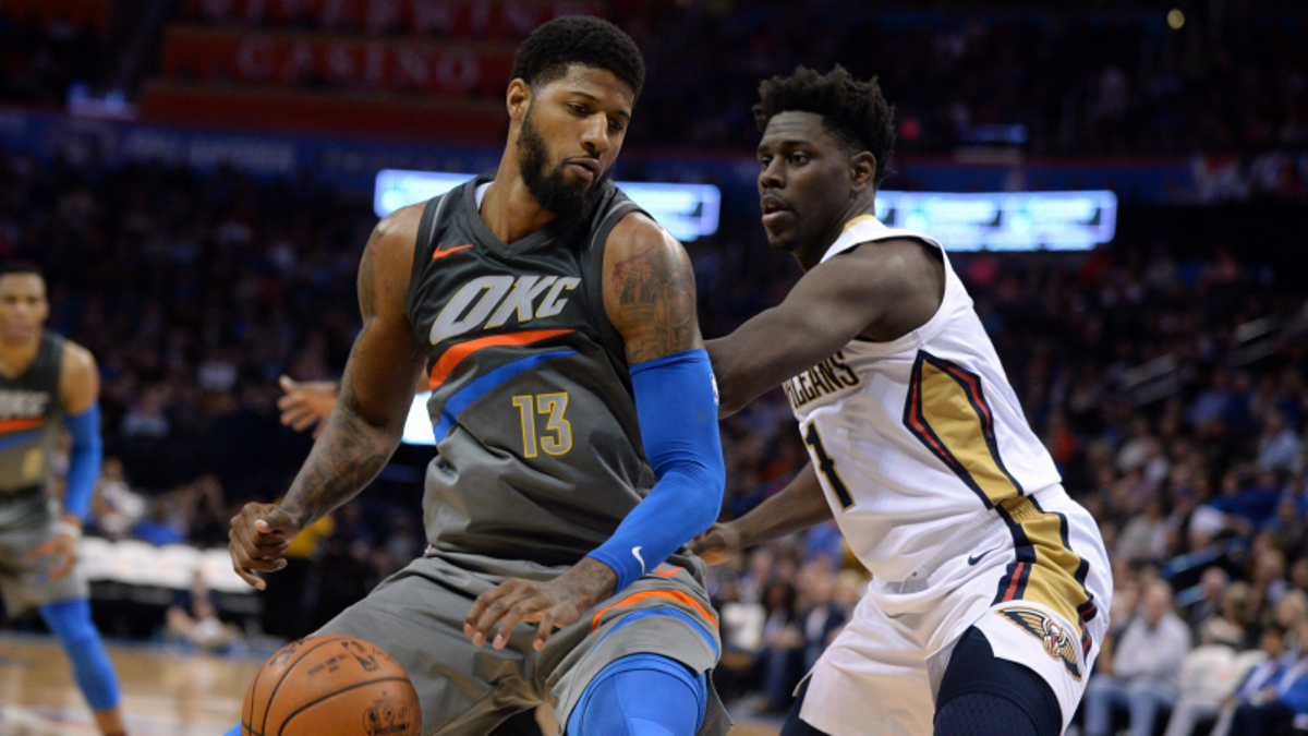 NBA Betting, DFS Guide: Spurs-Rockets, Thunder-Pelicans, More article feature image
