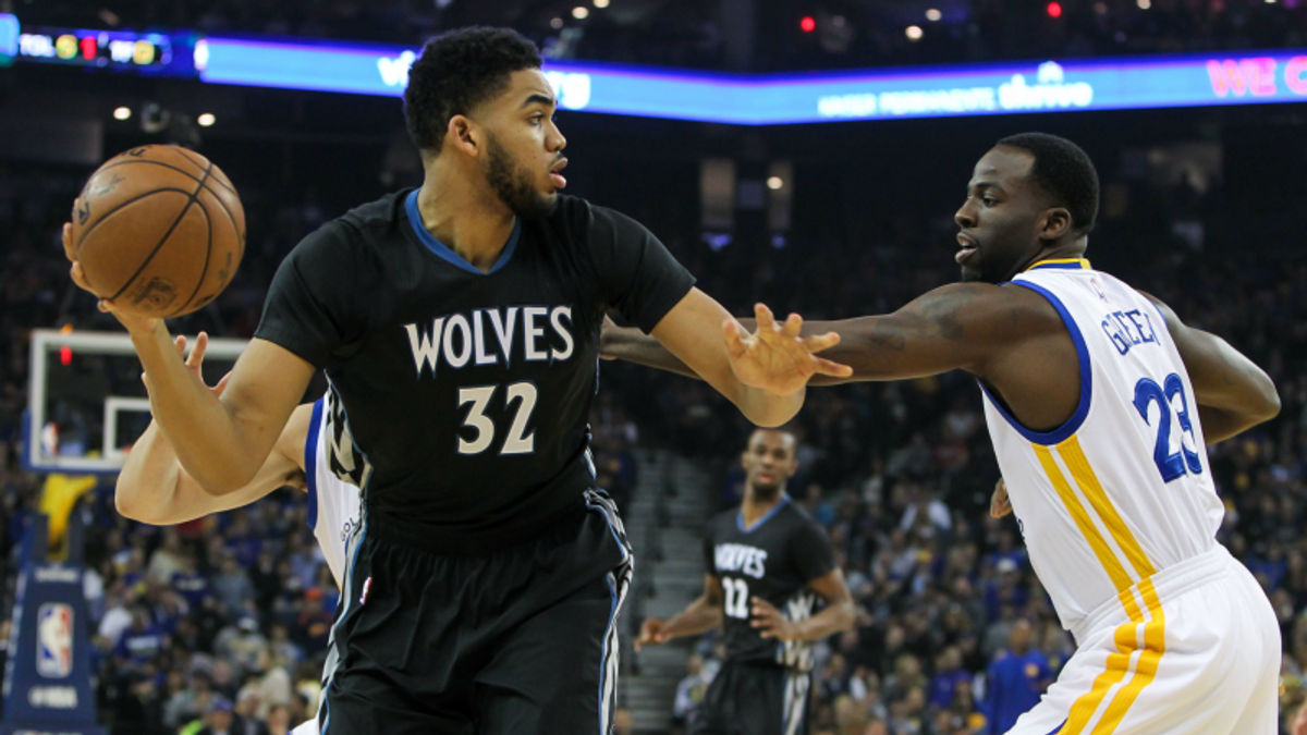 Warriors-Wolves Angles: Things Aren't So Golden Without Steph article feature image