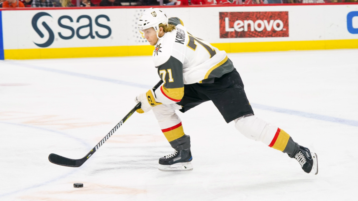 Three NHL Prop Bets for Friday: Karlsson Over/Under 2.5 Total Shots on Goal? article feature image