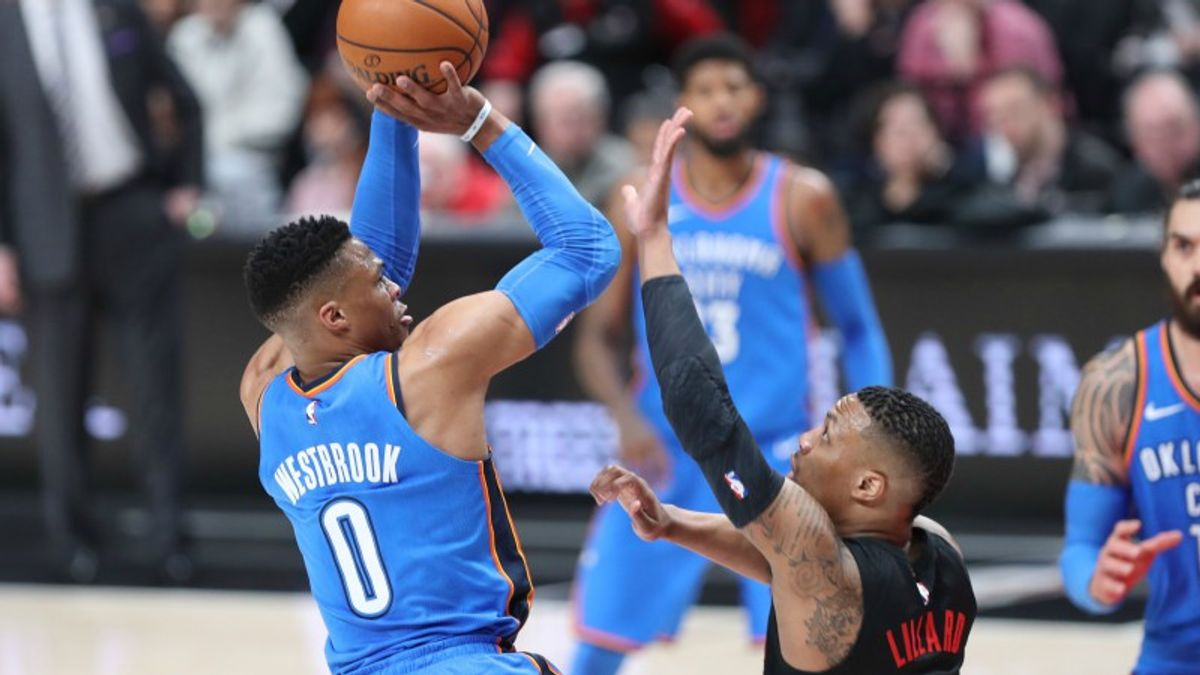 NBA Sunday Betting: Westbrook-Lillard, No Steph in Warriors-Jazz, More article feature image
