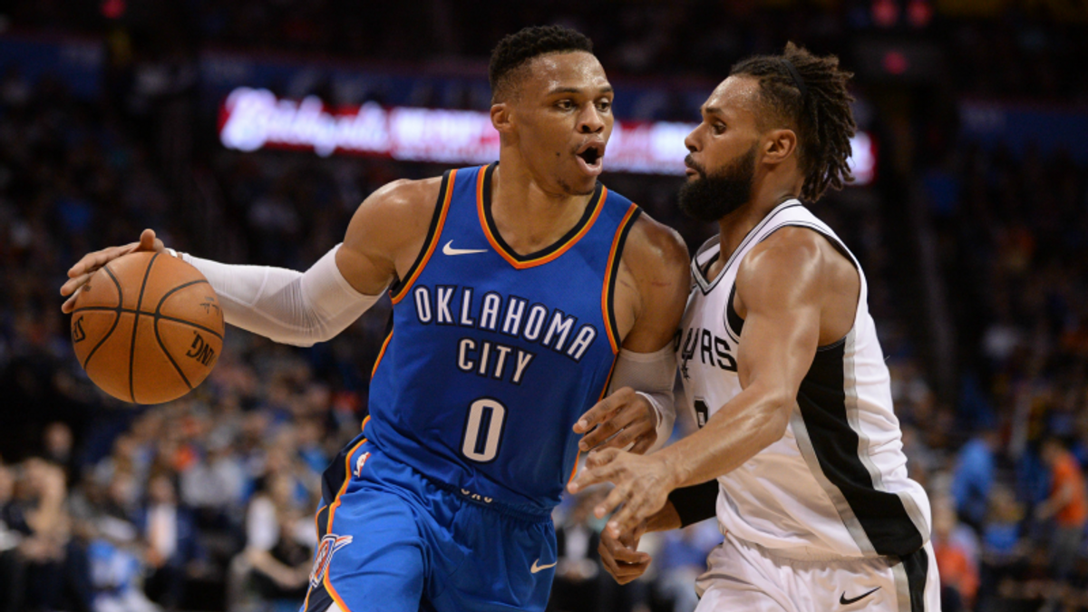 NBA Betting, DFS Guide: Thunder-Spurs, Giannis vs. Durant, More article feature image