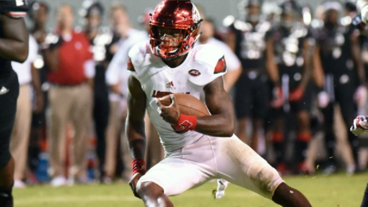 Over/Under 4.45 Seconds? Predicting Lamar Jackson's 40 at the NFL Combine article feature image
