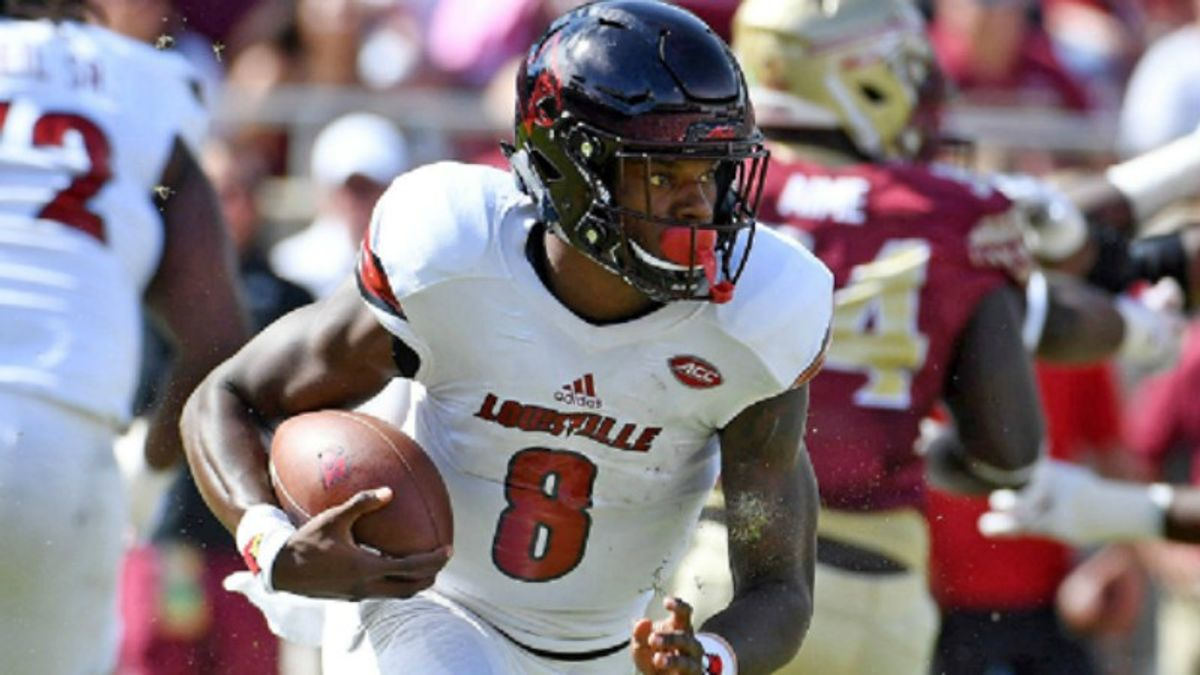 Early Leans on NFL Draft Props: Lamar Jackson's Stock Has Nowhere to Go But Up article feature image