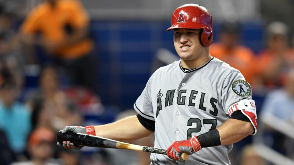 Lack of Trout Moving Line Against Halos article feature image