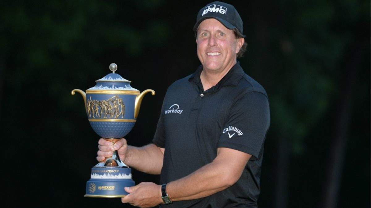 What Mickelson's Win Means for Majors Betting article feature image