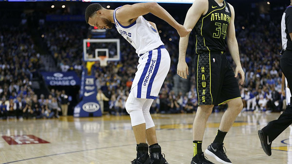 Steph Curry's Injury: Is Perfect Storm Brewing to Keep Warriors from Winning Title? article feature image