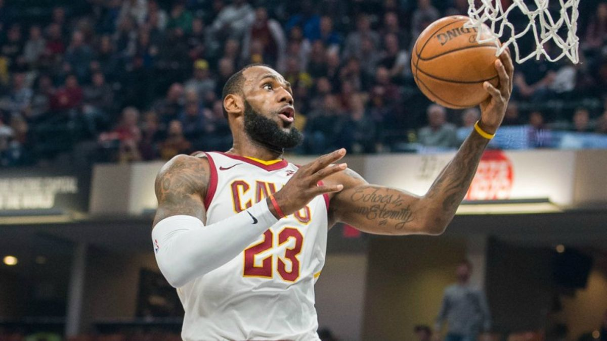 Banking on LeBron: The King Dominates the 1st Round article feature image