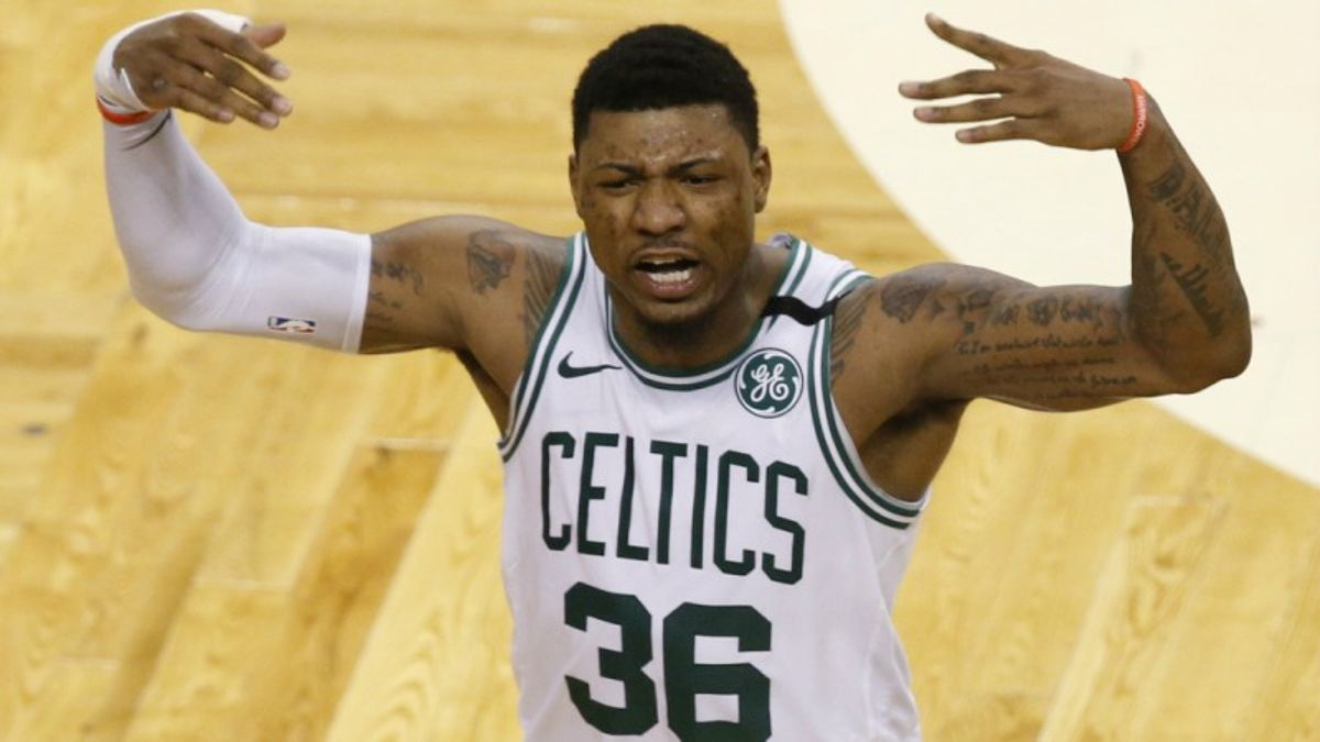 3 NBA Props for 76ers-Celtics Game 1: Smart Over/Under 9.5 Points? article feature image