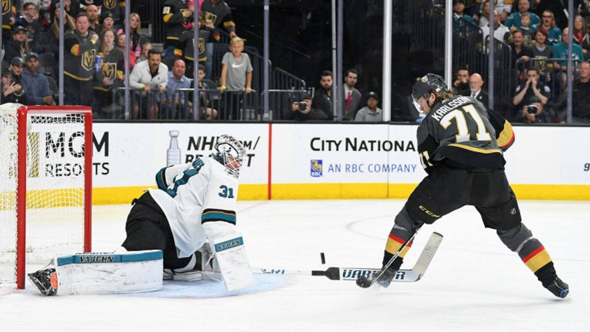 Top NHL Props for Saturday: Jones Over/Under 30.0 Total Saves? article feature image