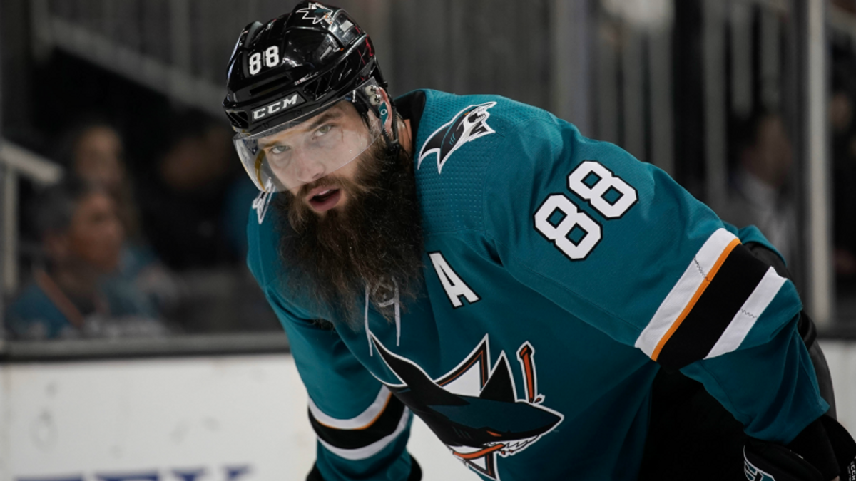 Top NHL Prop Bets for Wednesday: Burns Over/Under 4.0 Total Shots on Goal? article feature image