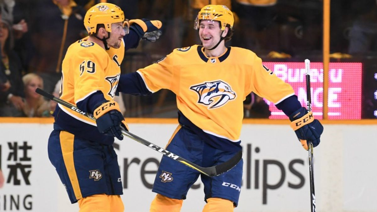Top NHL Prop Bets for Sunday: Forsberg Over/Under 3.5 Total Shots on Goal? article feature image
