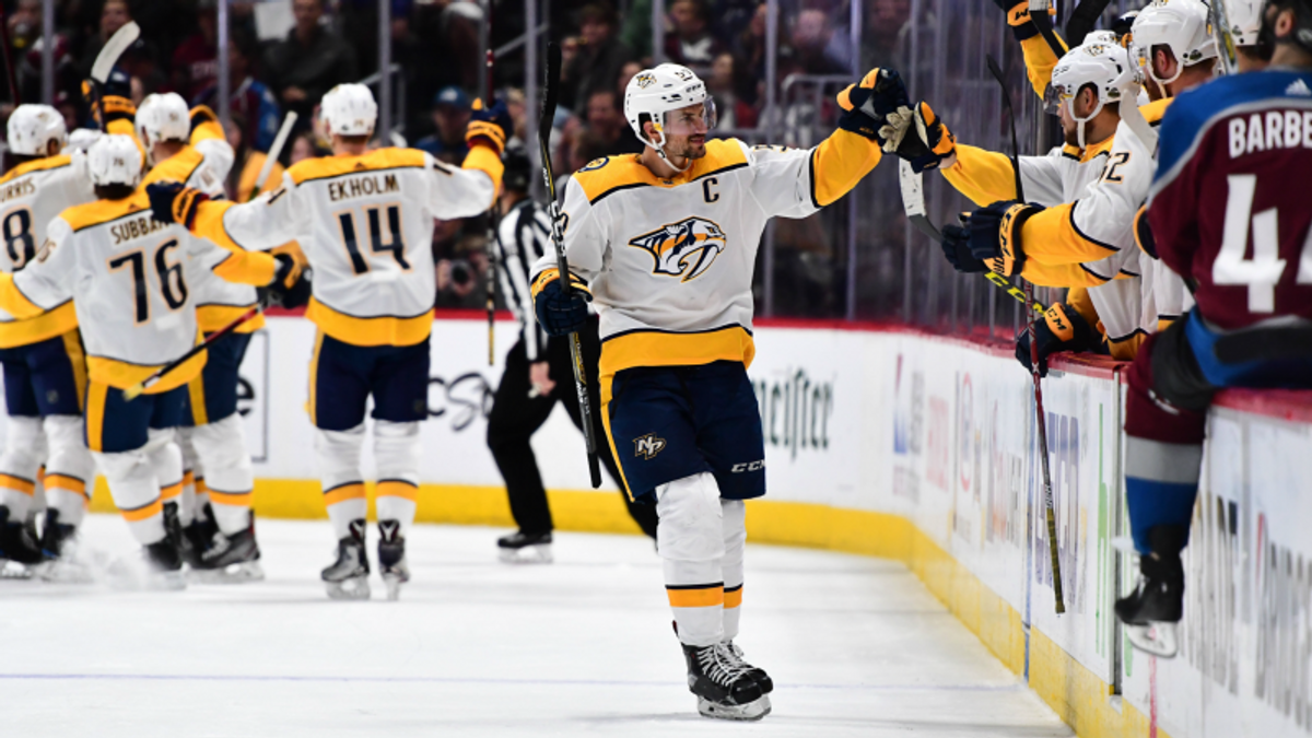 Top NHL Props for Friday: Josi Over/Under 2.5 Total Shots on Goal? article feature image