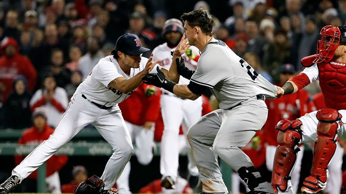 Thursday MLB Betting Notes: Brawls, Brawls and More Brawls article feature image