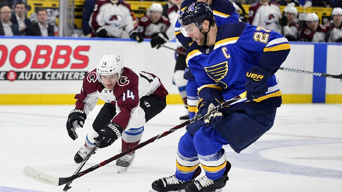 Betting a Do-Or-Die NHL Saturday: Playoff Spot on the Line in Avs-Blues article feature image