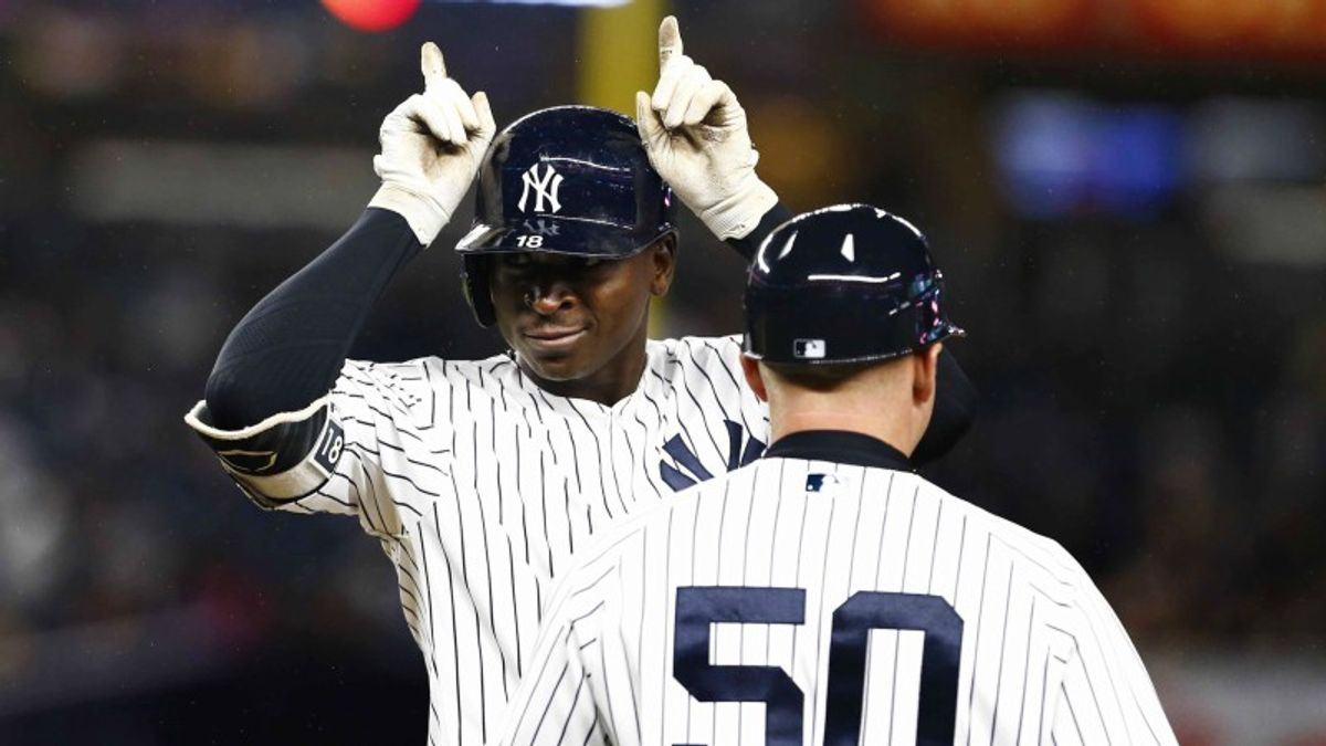 MLB Betting Notes: Yankees Go For 9 Straight on Sunday Night article feature image