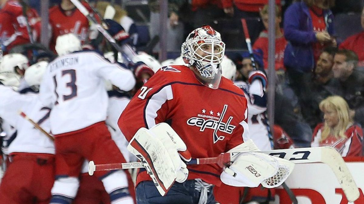 The Washington Capitals Aren't Dead Yet, But They're Close article feature image