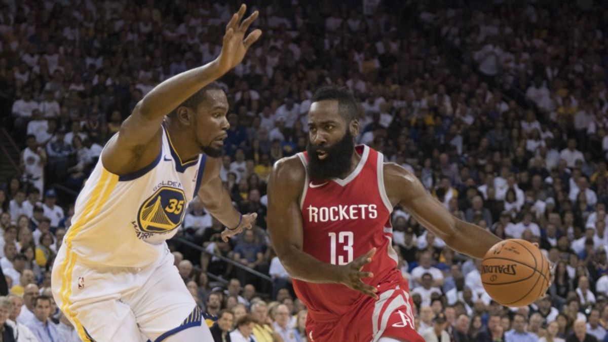 Warriors, Rockets Lead NBA Championship Contenders article feature image