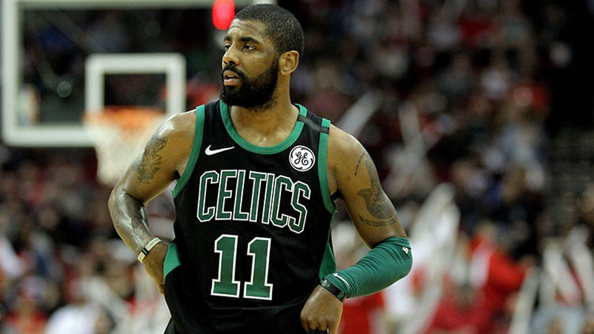 The Celtics Aren't Done, But Their Ceiling Is Much Lower Without Kyrie Irving article feature image