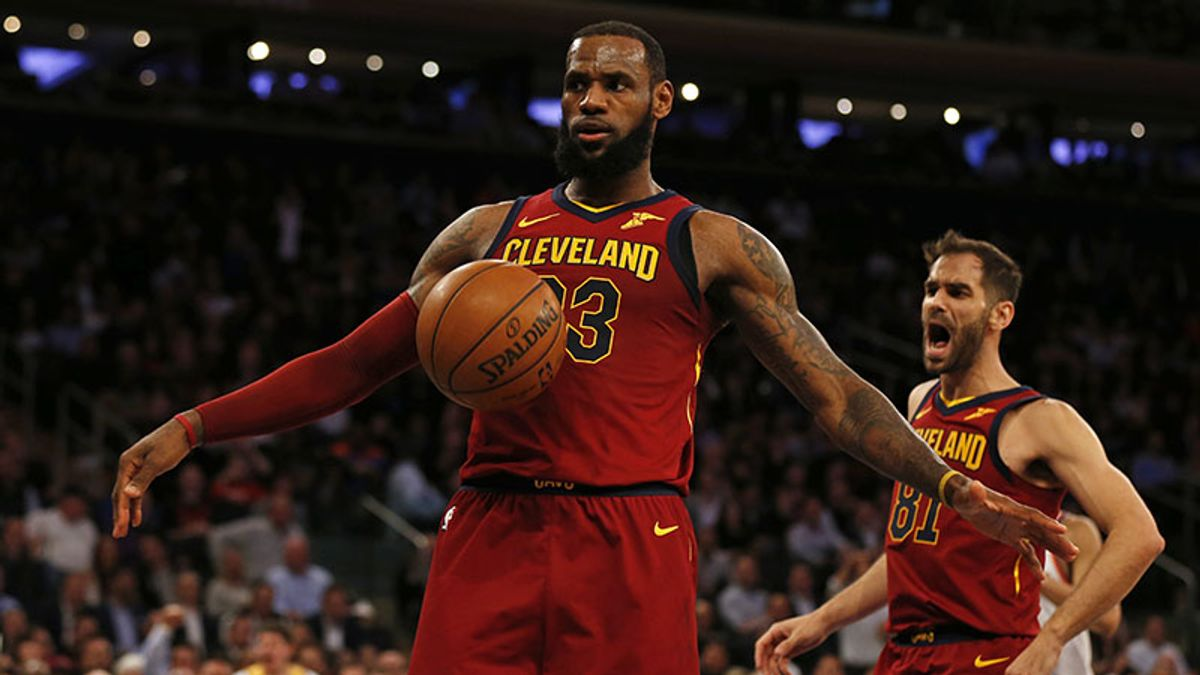 The Cavs' Road to the Finals Is Clear … All the King Has to Do Is Hold Court article feature image