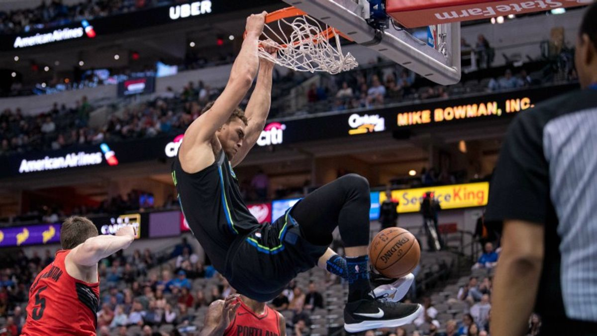 Wake and Rake: Blazers-Mavs Attracting Early Wiseguy Action article feature image