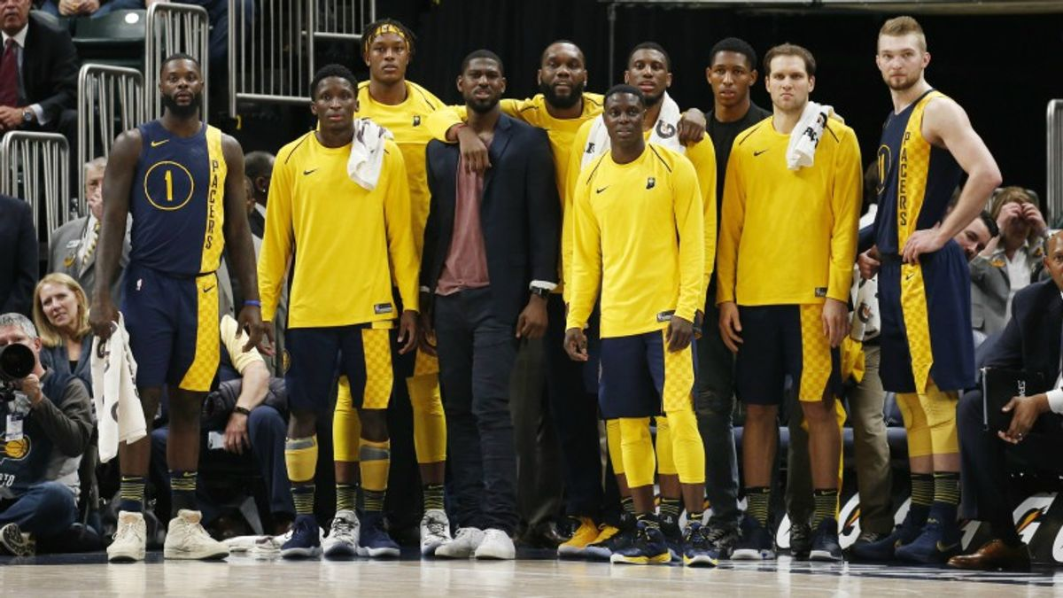 Wake and Rake: Professional Action Moving Pacers-Cavs Game 1 Total article feature image