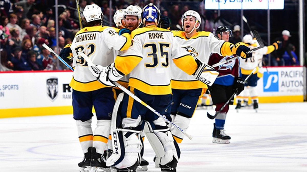 Predators-Avalanche Preview: Anything Can Happen in the Playoffs, Right? article feature image