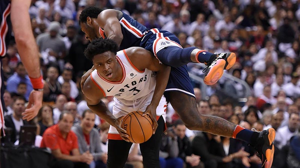 Searching for a Split: Wizards' Key to Upsetting Raptors in Game 2 article feature image