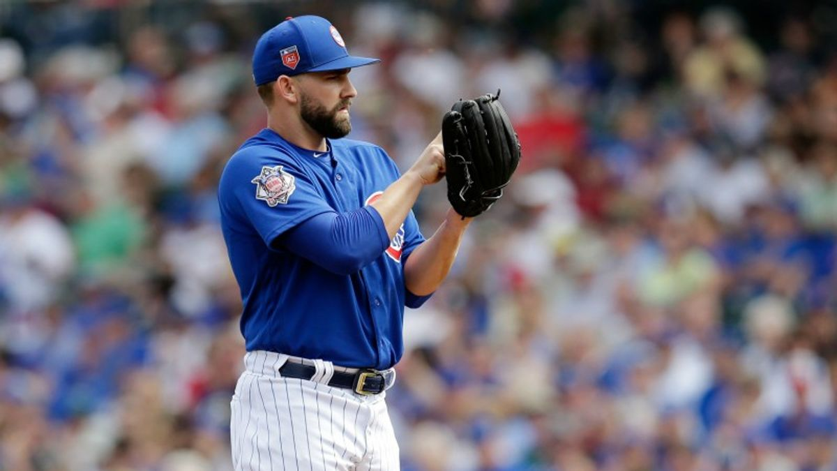 What Should Bettors Expect from Tyler Chatwood Tonight and this Season? article feature image