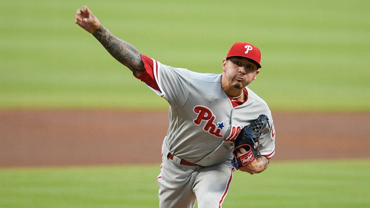 Tuesday's MLB Over/Under: Will Velasquez and Ray Turn the Lights Out in Philadelphia? article feature image