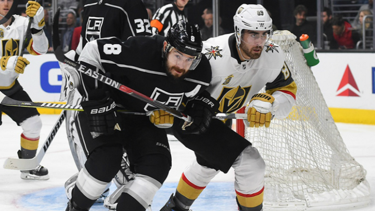 Vegas' Inaugural Playoff Series Will Be Tight, But Expect the Knights to Boogie article feature image